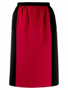 Yves Saint Laurent Pre-Owned 1980's colour block straight skirt -