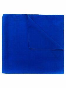 Giorgio Armani Pre-Owned 1990's classic long scarf - Blue
