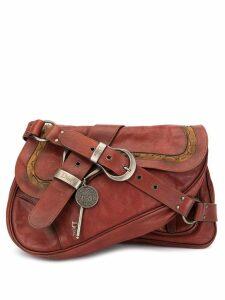 Christian Dior Pre-Owned Gaucho shoulder bag - Red