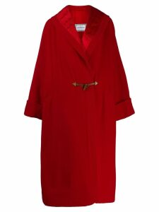 Versace Pre-Owned 1980 oversized coat - Red