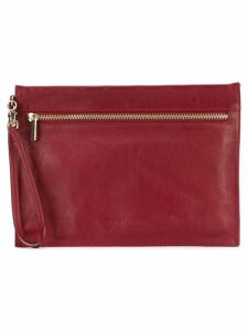 Giorgio Armani Pre-Owned envelope clutch - Red
