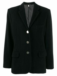 Helmut Lang Pre-Owned 1990's single breasted blazer - Black