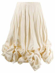 Comme Des Garçons Pre-Owned 1990's gathered balloon hem skirt -