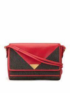 Yves Saint Laurent Pre-Owned logo plaque shoulder bag - Red