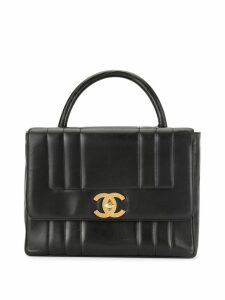 Chanel Pre-Owned Mademoiselle CC turnlock tote - Black