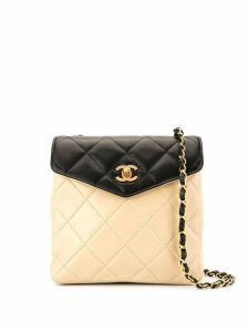 Chanel Pre-Owned CC Single Chain shoulder bag - White