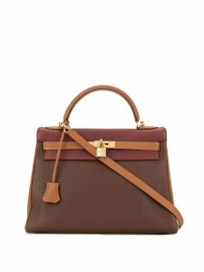 Hermès Pre-Owned Kelly 32 2Way hand bag - Brown