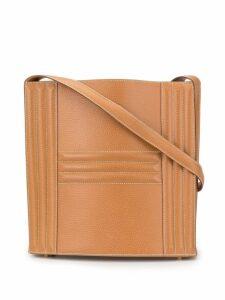Hermès Pre-Owned Cadena Kelly Shoulder Bag - Brown