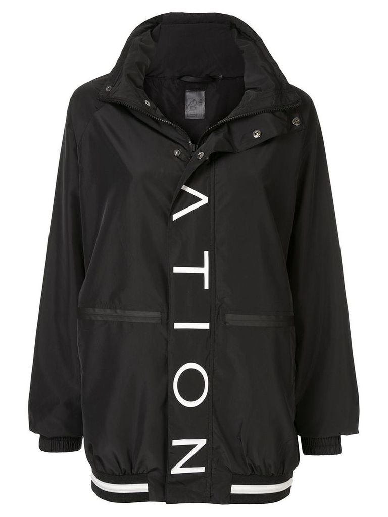 P.E Nation block shot jacket - Black