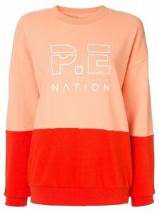 P.E Nation money shot sweatshirt - Pink