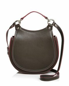 Behno Tilda Leather Saddle Crossbody
