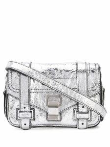 Proenza Schouler Ps1+ Mini Cross Body Bag - Silver