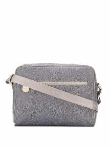 Borbonese all-over print shoulder bag - Grey