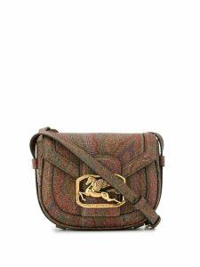 Etro Pegaso paisley-print bag - Brown