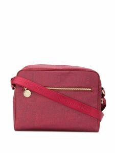Borbonese all-over print shoulder bag - Red