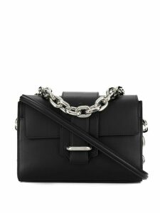 Paco Rabanne chunky chain shoulder bag - Black