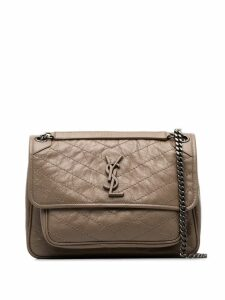 Saint Laurent Niki monogram shoulder bag - Neutrals