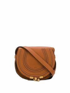 Chloé small Marcie crossbody bag - Brown
