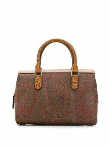 Etro Paisley print handbag - Neutrals