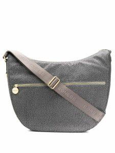 Borbonese saddle tote - Grey