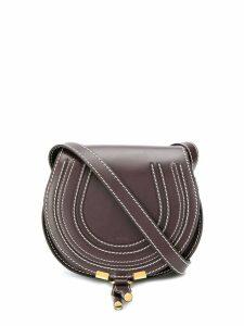 Chloé Mini Marcie round bag - Brown