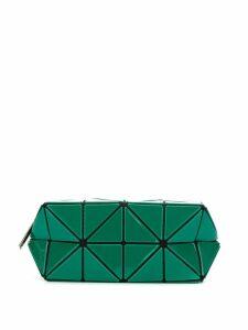 Bao Bao Issey Miyake geometric make up bag - Green