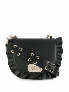 Red Valentino RED(V) Rock Ruffles shoulder bag - Black