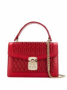 Miu Miu Miu Confidential matelassé leather shoulder bag - Red
