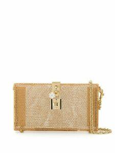 Dolce & Gabbana chain clutch bag - Gold