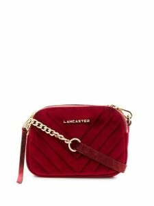Lancaster quilted crossbody bag - Red