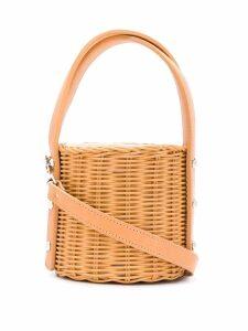 Wicker Wings Quan bucket bag - Orange