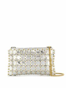 Red Valentino RED(V) Flower Puzzle cross body bag - Silver