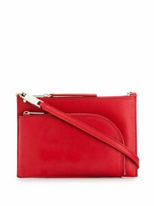 Rick Owens small cross body bag - Red