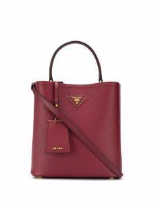 Prada top handle bucket bag - Red