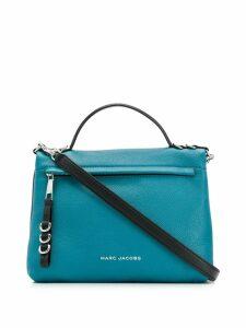 Marc Jacobs logo print shoulder bag - Blue