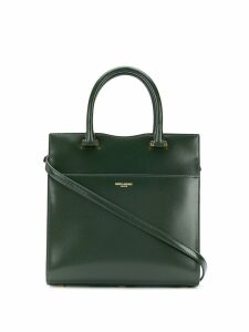 Saint Laurent small Uptown tote - Green