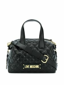 Love Moschino quilted tote bag - Black
