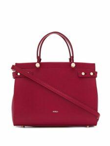 Furla top handle tote bag - Red