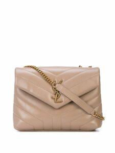 Saint Laurent Loulou shoulder bag - Neutrals