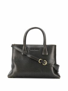 Miu Miu top-handle tote bag - Brown