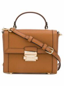 Michael Michael Kors small Jayne cross body bag - Brown