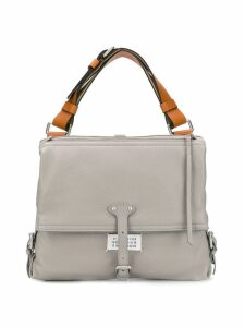 Maison Margiela large NDN shoulder bag - Grey