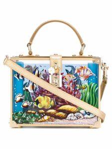 Dolce & Gabbana under the sea minaudière box bag - Multicolour