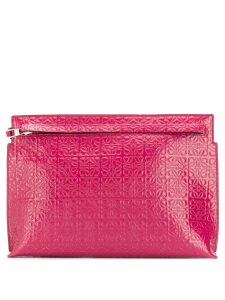 Loewe T pouch - Pink