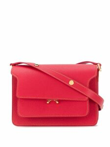 Marni Trunk medium shoulder bag - Red