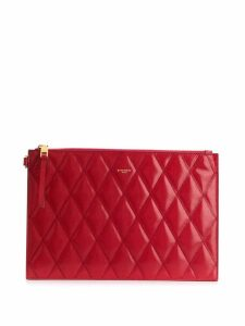 Givenchy GV3 quilted pouch - Red