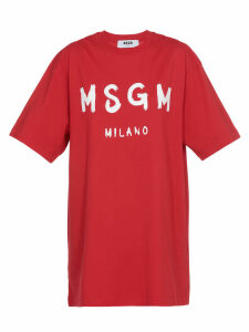 MSGM Logo Dress