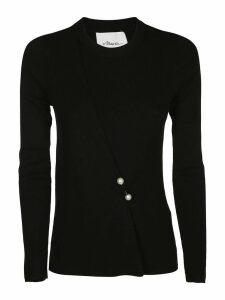 3.1 Phillip Lim Blend Faux Pearl Sweater