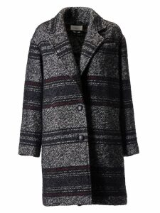 Isabel Marant Striped Pattern Coat