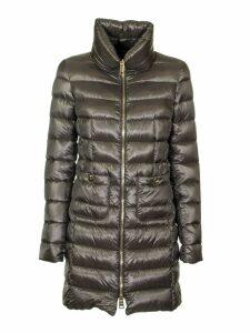 Herno Grey Maria Down Jacket